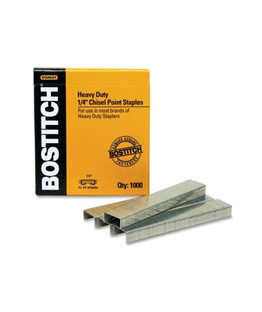 Stanley-Bostitch Premium Heavy-Duty Staples (1,000 Staples/Box) SB35-1/4