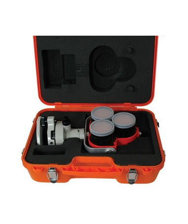 Seco Tilting Triple Prism Assembly Kit Tribrach in Carrying Case