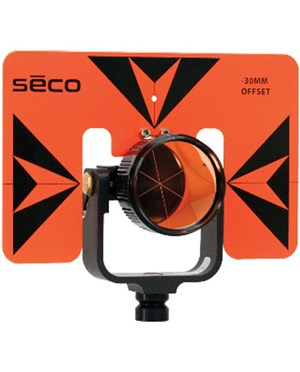 Seco 6402-06-FOB -30 mm Premier Prism Assembly, Fluorescent Orange/Black