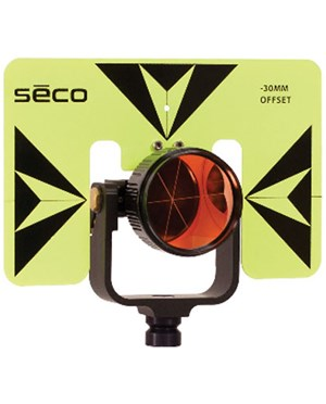 Seco 6402-06-FLB -30 mm Premier Prism Assembly, Fluorescent Yellow/Black