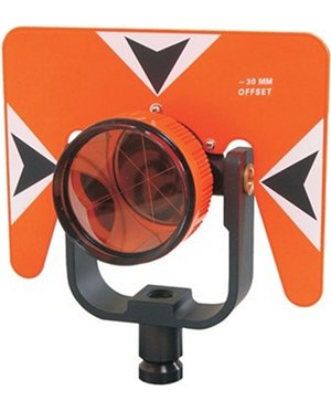 Seco 6402-10-FOB Contractor Series 62 mm Prism Assembly, Fluorescent Orange