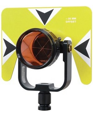 eco 6402-10-FLB Contractor Series 62 mm Prism Assembly, Fluorescent Yellow