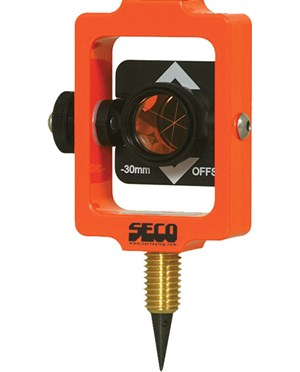 Seco 6405-01-FOR Stake Out Prism Fluorescent Orange