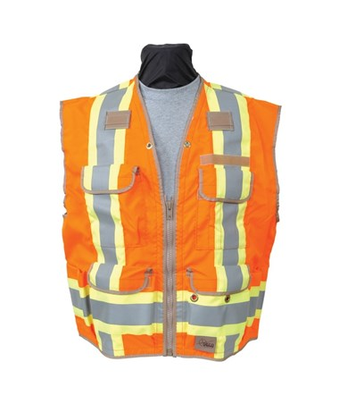 Seco 8260-Serries Class 2 Surveyors Utility Vest SEC8260
