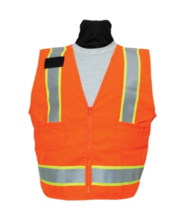 Seco 8292 Series Safety Utility Vest SEC8292-50-FOR-