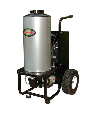 Simpson MB1223 Vertical Hot Water Power Washer with 120V Induction Motor