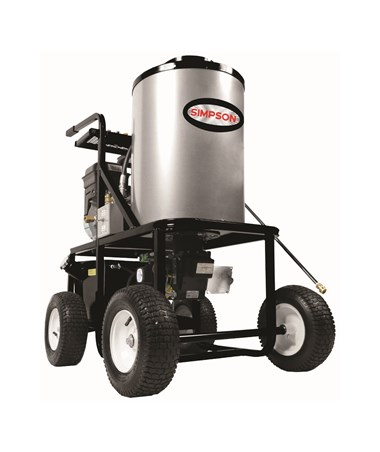 Simpson KB3028 Vertical Hot Water Power Washer with Briggs & Stratton Engine
