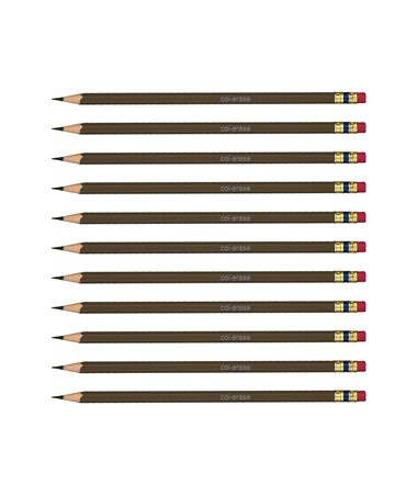 Prismacolor Col-Erase Erasable Color Pencil (12-Pack) Brown SN20043