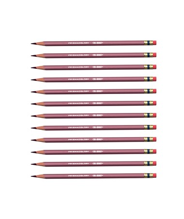 Prismacolor Col-Erase Erasable Color Pencil (12-Pack) Tuscan Red SN20054