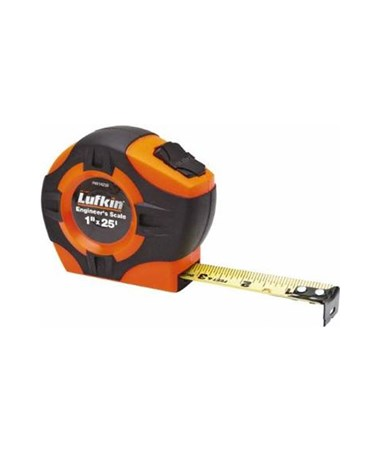 "Sokkia HV1425ED 1""x25' Series 1000 Hi Viz Engineers Power Tape SOK120121"