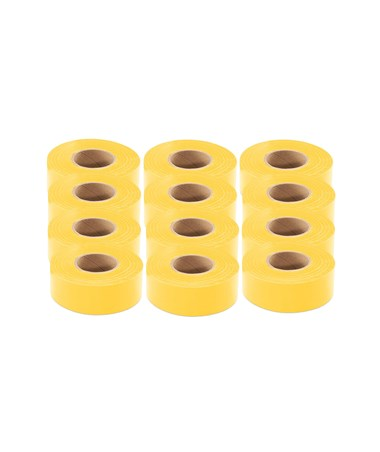 300 Ft. Yellow Flagging Tape (12-Pack) SOK811003