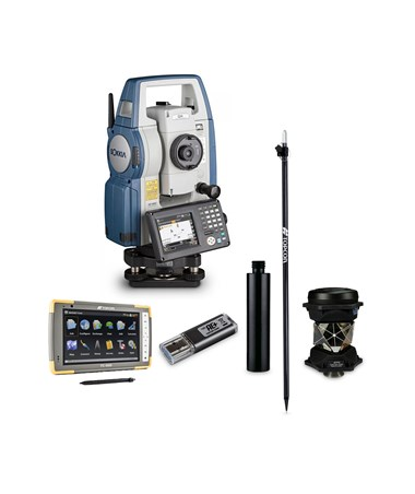 Sokkia DX-200 Series Motorized Total Station with Complete Robotic Upgrade Kit
