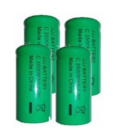 Rechargeable Battery Pack for Machine Control Receivers (4 Per Pack) SPE010562-99