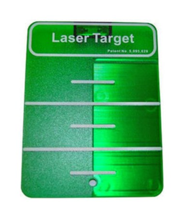 Ceiling Target for Spectra Green Beam Cross Line Laser SPE1215-1560