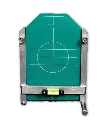 Large Universal Target for Spectra Pipe Lasers - Green 734-G
