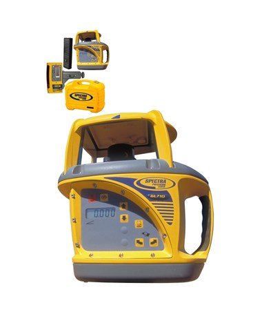 Spectra Precision single Slope Laser Grade Laser Transmitters: Built for the Job Site TriGL700