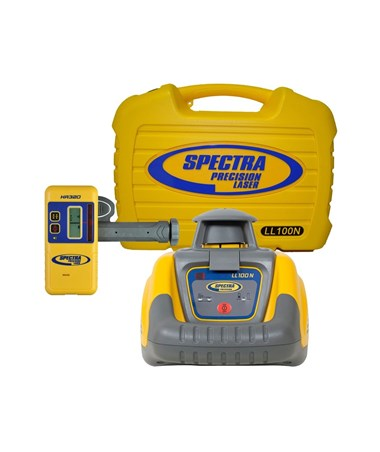Spectra LL100N Self Leveling Laser Without Grade Rod