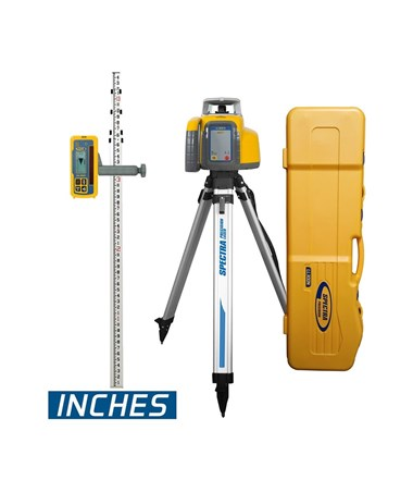 Spectra LL300N With HL450 Receiver, Alkaline Batteries, Tripod And Rod (Inches)