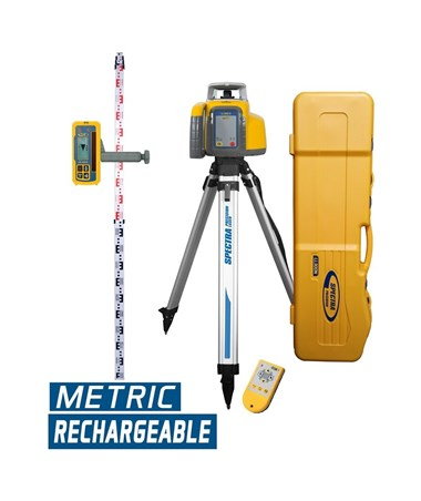 Spectra LL300N With HL450 Receiver, RC601 Rremote Control, Tripod And Rod (Metric)