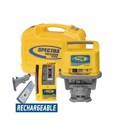 Spectra LL500 With CR600 Receiver And Rechargeable Batteries