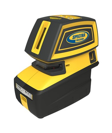 Spectra LT52G 5-Point and 2-Cross Line Green Beam Line Laser Level SPELT52G