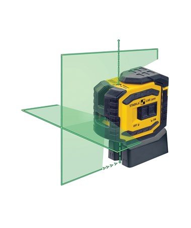 Stabila LAX 300G Green Beam Cross Line & Dot Laser STA03185