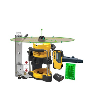 Stabila LAR120 Green Beam Rotating Interior Laser Kit STA05300