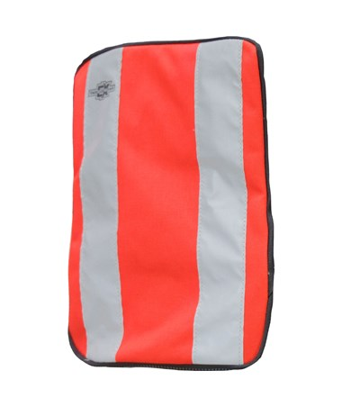 Medium Orange Plain Front Cover for Tablet Ex Gear Standard Chest Pack TABFC-Pln-Or-M1017