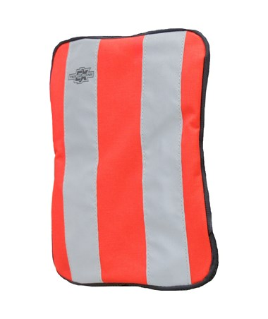 Small Orange Plain Front Cover for Tablet Ex Gear Standard Chest Pack TABFC-Pln-Or-S1017