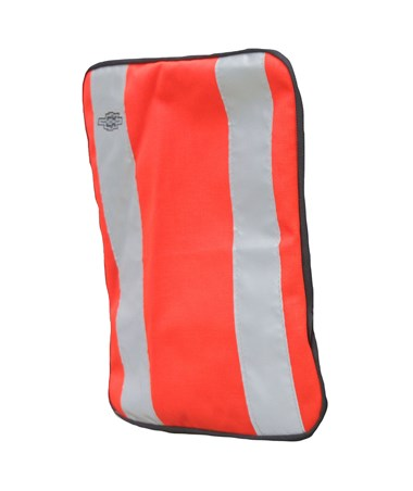 Orange Plain Front Cover for Tablet Ex Gear Standard Chest Pack TABFC-Pln-Or-S1017-