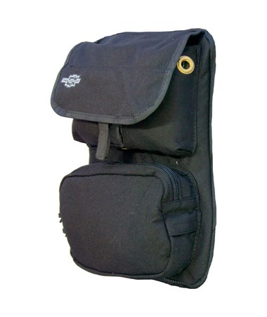 Medium Black Front Cover with Pockets for Tablet Ex Gear Ruxton Standard Chest Pack TABFC-Poc-B-M1017