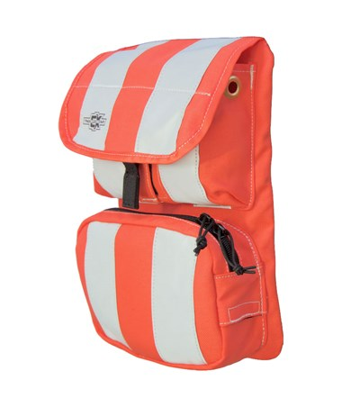 Medium Orange Front Cover with Pockets for Tablet Ex Gear Ruxton Standard Chest Pack TABFC-Poc-Or-M1017