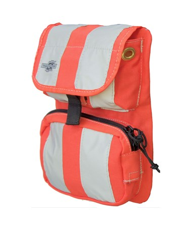 Small Orange Front Cover with Pockets for Tablet Ex Gear Ruxton Standard Chest Pack TABFC-Poc-Or-S1017