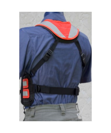High-Visibility Shoulder Cover for Tablet Ex Gear Ruxton Chest Pack TABHVC1017