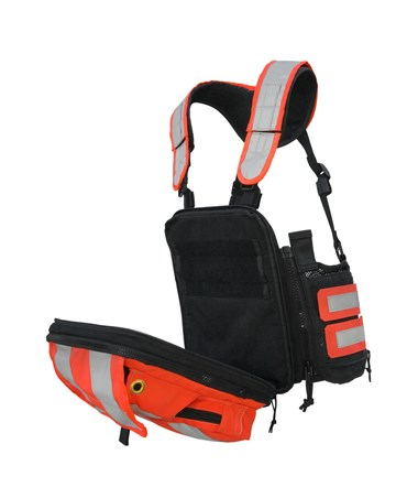 Tablet Ex Gear Ruxton High Visibility Chest Pack TABRux-HV-S1017-