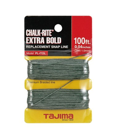 Tajima Chalk-Rite® braided line, 30m / 100 ft. TAJPL-ITOL