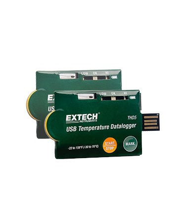 Extech USB Temperature Datalogger THD5