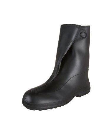 "STRETCH RUBBER OVERSHOES 10"" Boot - Black TIN1400"