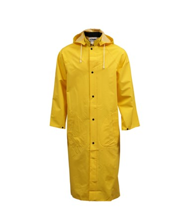 "Yellow Coat - 48"" - Slash Pockets - Hood Snaps - Includes Detachable TINC53217"