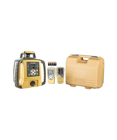 Topcon RL-SV1S Single Grade Laser with LS-80L Laser Receiver and Dry Cell Battery