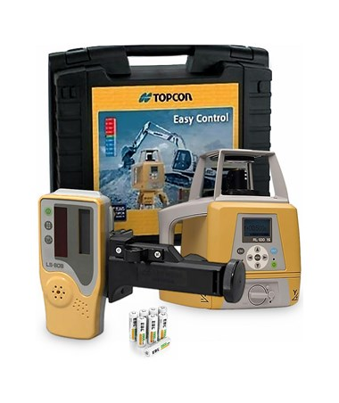 Topcon RL-100 1S Single Grade Laser with Alkaline Batteries 57127LA