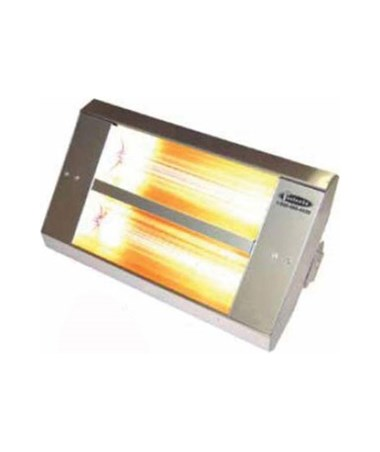 TPI TH & THSS Series Mul-T-Mount Electric Infrared Heater with 2 Lamps, Stainless Steel TPI222A30TH208V-