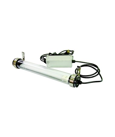 TPI Water Resistant Fluorescent Machine Tool Light, Remote Ballast with Cord Set TPI21TLPIBC