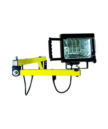 TPI Standard Loading Dock Quartz Halogen Light with Arm TPIDKLVAQHA