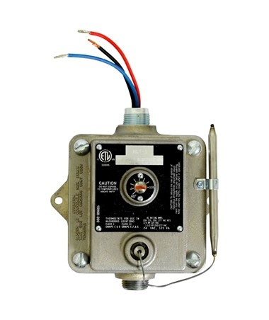 TPI 22-Amp Hazardous Location Thermostat HLT Series TPIEPETD8D-