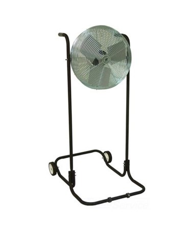 TPI Industrial Workstation Floor Fan, High Stand TPIF12TE-
