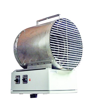 TPI 5500 Series Washdown Fan Forced Unit Heater TPIF1F5503T-