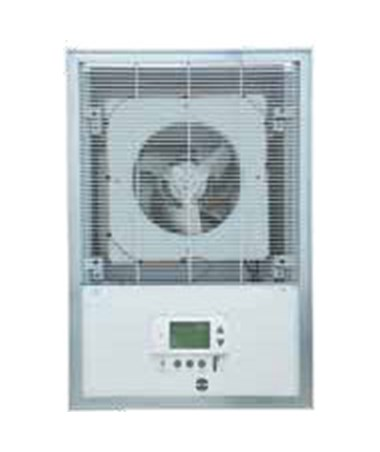 TPI 3450 Series Setback On Demand Heavy-Duty Fan-Forced Wall Heater, White TPIF3453SD-