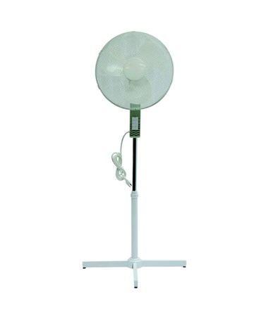 "TPI Workstation Oscillating Office 16"" Stand Fan TPIOSF16"