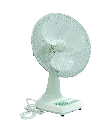 TPI Workstation Oscillating Office Fan TPIODF12-